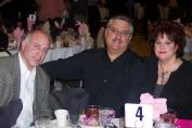 Charlie Petruzzi (CFD), Chief Mike Marino of Elmwood Park and Cindy Marino (Photo courtesy of Betti Marino-Wasek)
