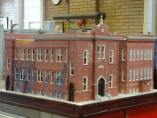 Stuart Gootnick Model of OLA as it sits in the Fire Museum of Greater Chicago in 2010